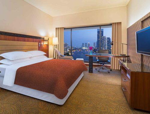 Decoración para habitación de hotel
